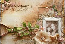 Scrapbook Pages - Gabrielle Pollaco