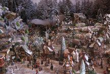 Village de Noël - christmas village