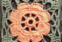 Crochet with granny squares / by Edda Spitaels
