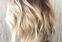 Blonde Bayalage hair