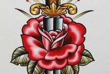 Legg tattoo