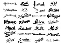 hand letter logos