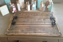 Reclaimed Wood Projects / Reclaimed Wood Tray