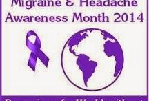 Migraine & Headache Awareness Month / June is Migraine and Headache Awareness Month (#MHAM). Here you will find links to my blog posts for each blog challenge.