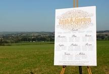 Bespoke Wedding Stationery / Bespoke wedding invitations and stationery produced by Artemis Stationery