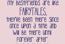 Best friend quotes.