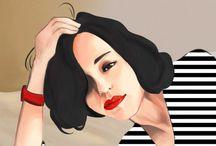 Illustrations // by gloriiatheodora