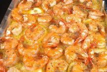 Recipes: Seafood / shrimp, fish, clams, mussels, lobster, etc.
