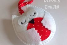 Sewing Owls