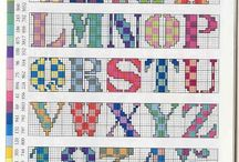 Embroidery - Alphabets