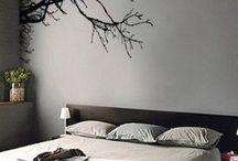 bedroom mural