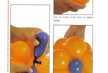Decor com balões