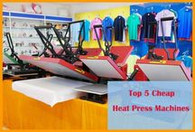Top 5 Cheap Heat Press Machines
