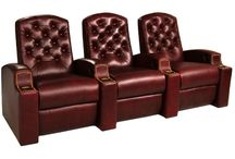Tufted Backs / This board brings together all seats in our inventory with regal tufted back designs. #hometheaterseating