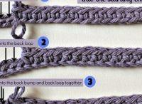 cordones de ganchillo