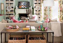Family room inspirations / by Lindsey Rinaudo