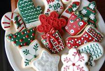 karácsonyi süti dekor