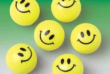 SMILE FACE THEME / If you want to put a smile on someone's face, let us help with our smile face themed items!