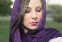 Scarves and Pretty Girl Pictures / Women's Fine Art Photography, pictures with scarves