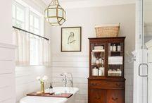 bathroom ideas / ideas how to organize and functionally decorate small bathroom