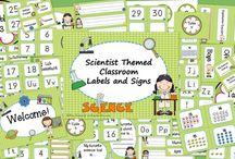 science classroom theme / by Jessie Fishel