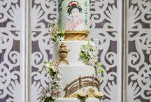 wedding cake luxe