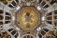 Cúpulas / En este tablero visitaremos los mejores ejemplos de cúpulas y otros tipos de bóvedas