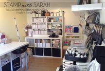 My Stampin' Up! Craft Room