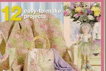 Patchwork and stitching magazine