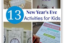 New Years for Kids / New Year Activities for Kids / by Teresa M