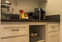 Built in Buffet - Butlers Pantry - Hutch Cabinets / Custom, built in buffet, butlers pantry, hutch cabinets