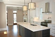 Modern Kitchens / We design, custom build and install all finishes and models.