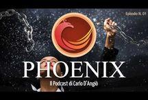 Phoenix Podcast / Phoenix è il mio podcast, una specie di programma radiofonico – che puoi scaricare anche sul tuo tablet o smartphone – in cui cerco di raccontare la mia esperienza sulla possibilità di ricominciare a vivere e a lavorare in modo più intelligente e redditizio. Seguimi su http://www.carlodangio.com