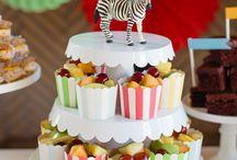 Fêtes D'anniversaire De Cirque