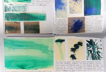 Sketchbooks, notebooks and journals