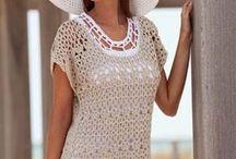 tops, blouses, tunics (crochet)