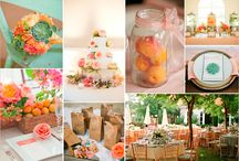Wedding | peaches / Peaches from Cesena, Italy, are a typical product certified by the European Union.  We love to use fresh and flavoured peaches as part of our Wedding Decor for our summer Italian Destination Weddings!