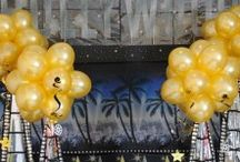 Hollywood Theme Party - Balloons
