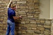 Obklady zeď