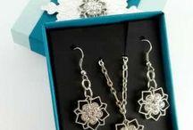 Jewelry made with SU items