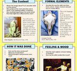 Historia del arte para niños / Herramientas para ensenar arte a los ninos, actividades sobre pintores famosos