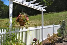 Pergolas and Arbors / Penn Fencing designs and installs custom pergolas and arbors.
