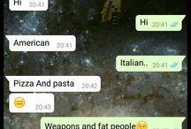 Dal mondo di WhatsApp / non sempre ciò che scriviamo è ciò che sembra!