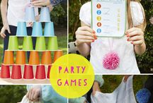 Party games / by Courtney Scudder