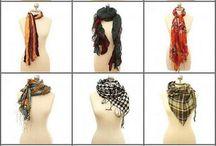 scarfs / by Jana Tarleton
