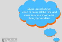Music journalism tips / Handy music journalism tips from distance learning course provider, the College of Media and Publishing.