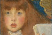 Kinderportret schilder