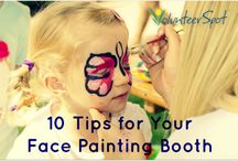 Face-Painting Booth