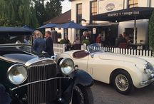Classic Cars at Marneys Village Inn