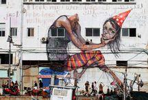 Por qué te rayates? Por qué lo pintates? / Gráficos de pared y de piel / by Maria Ginerdelosrios